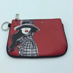 🆕 IZak coin/card holder w keychain